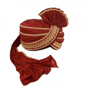 Mix Turban -Maroon